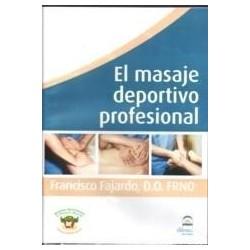 DVD El Masaje deportivo profesional