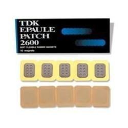 Parche Magnet. TDK 2600 Gaus 2,5x18 mm. (10 Uds.)