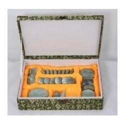 Juego 24 piedras de jade para masaje